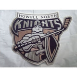 "Francis Howell North Knights of St. Peters, MO Logo 14""x10""Jacket Iron-On Patch"