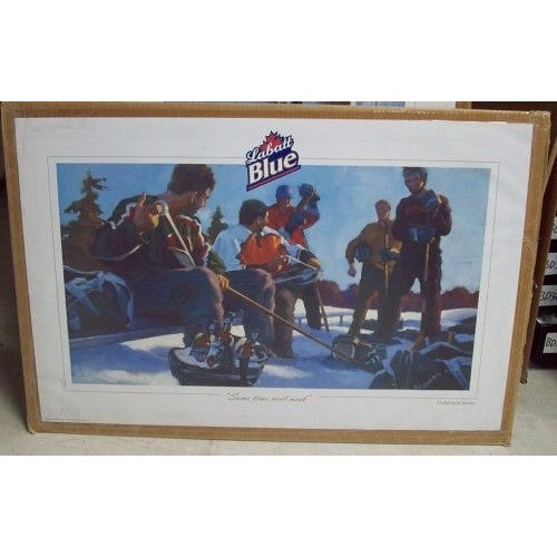 "2005 Labatt Blue Collectors Series Poster ""Same Time Next Week"" 34""W x 22""H"