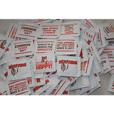 "1000 HOOTERS MOIST TOWELETTES ""WET NAPS"" WRAPPED LEMON SCENTED"