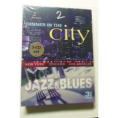 New Dinner in the City: Jazz & Blues Various Artists 33 Tracks 3 CD Set