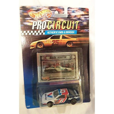 NASCAR #6 Mark Martin Valvoline 1992 Hot Wheels Pro Circuit #2565