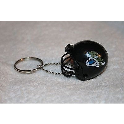 "NFL New Logo Jacksonville Jaguars 1.5"" Mini Plastic Helmet Pencil Topper Key Chain"