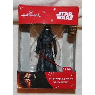"2015 Hallmark Kylo Ren 3"" Christmas Tree Ornament"