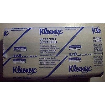 "1 Pack Kleenex ULTRA-SOFT Multi-Fold Paper Towels 9.25"" x 9.06"""