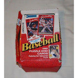 DONRUSS 1990 BASEBALL CARD PACKS OF 31 UNOPENED PACKS WITH RETAIL BOX