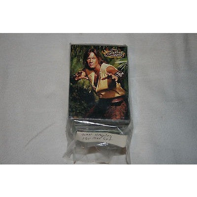 2001 HERCULES THE LEGENDARY JOURNEYS TV SERIES COMPLETE 120 CARD BASE SET