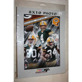 "2007 NFL Licensed Farve #7 Driver #80 Morency #34 Green Bay Packers 8""x10"" Photo"
