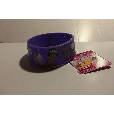 "1 Licensed Disney Fairy Tale Magic Bracelet 1"" Wide by 2.5"" Round Rubber"