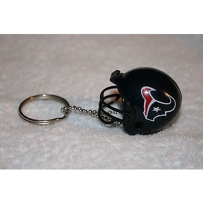 "NFL Houston Texans 1 1/2"" Mini Plastic Helmet Pencil Topper Key Chain"