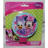 "Disney Minnie Mouse and Daisy Duck Night Light 3 1/2"" Round Shield Bulb Included"