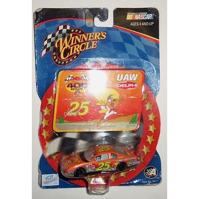 NASCAR #25 JOE NEMECHEK UAW DELPHI 1/64TH DIE CAST CAR WINNER'S CIRCLE