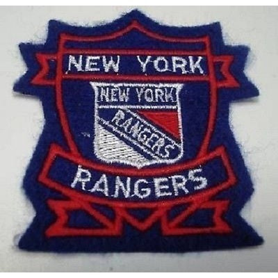 "NHL New York Rangers 125"" 1953 to 1968 Logo on 3 1/4"" Creat Iron On Patch"