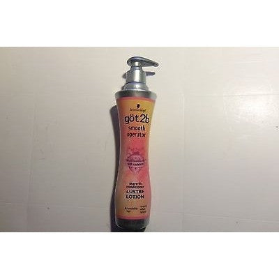 got2b smooth operator leave-in conditioner Lustre Lotion w Cashmere 6.8 fl oz