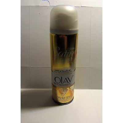GILLETTE SATIN CARE WOMEN'S SENSITIVE SHAVE GEL W/ A TOUCH OF OLAY FULL SIZE 7oz
