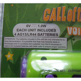 CALL OF THE WILD Bull Horn 4 Voice Changers 4 Animal Sounds Batteries Included