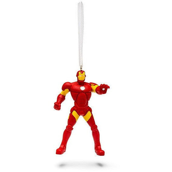 Hallmark 2015 Marvel Iron Man Christmas Tree Ornament In DAMAGED Box