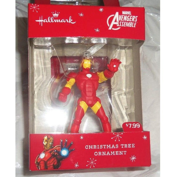 "Hallmark 2017 Marvel Avengers Assemble Iron Man 3"" Christmas Ornament"