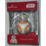 Hallmark 2016 Star Wars Ornament BB-8 BB8 Christmas Ornament