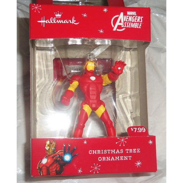 "2015 Hallmark Marvel Avengers Assemble Iron Man 3"" Christmas Ornament"