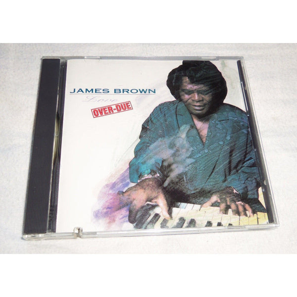 USED James Brown Love Over-Due CD 1991 SCOTTI BROS