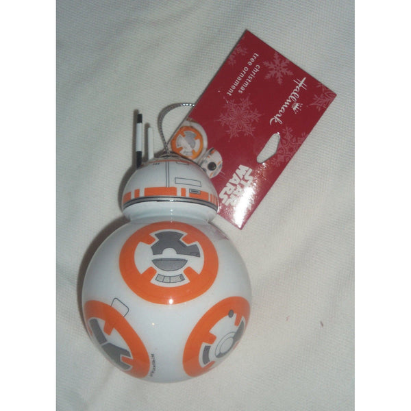 Hallmark 2016 Star Wars Ornament BB-8 BB8 Chibi Style Decoupage Christmas Ornament