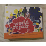 1 Sealed World Repair Kit Stamps Ink Pad Stickers Ages 8+