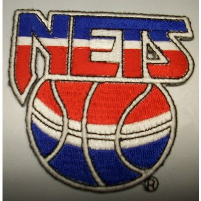 "NBA New Jersey Nets 2 1/2"" 1990/91-1996/67 Logo Iron-on Patch"