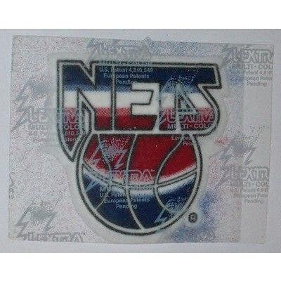 "NBA New Jersey Nets 3"" 1990/91-1996/97 Logo on White LEXTRA Iron-on Patch"