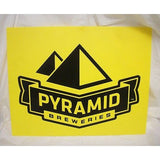 "Pyramid Breweries Yellow Plastic Pub 15.5"" by 12.25 Sign"