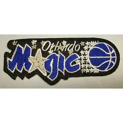 "NBA Orlando Magic 3 7/8"" 1989/99-1999/00 Logo Iron-on Patch"