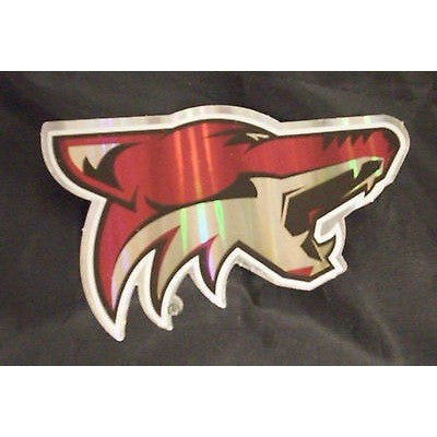 NHL Phoenix Coyotes Team Logo in Full Color & Shape Sticker #23