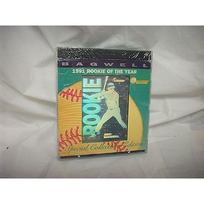 NEW 1991 MLB JEFF BAGWELL ROOKIE OF THE YEAR HOLOPRISM No. 024602