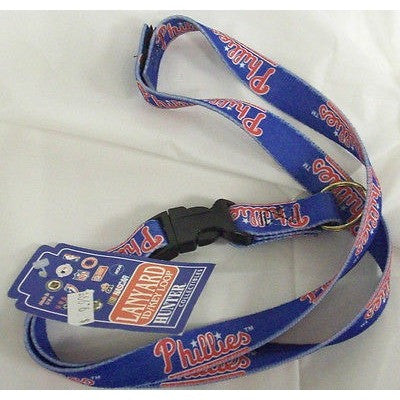 MLB Philadelphia Phillies Breakaway Lanyard With Key Ring
