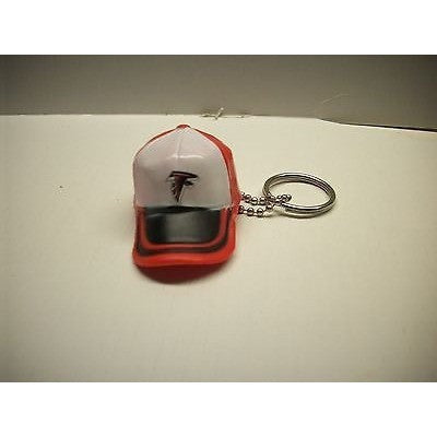 "NFL Atlanta Falcons Key Chain Key Ring Keyring 2"" Mini Hat 2-Tone Plastic Cap"