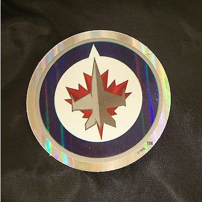 NHL Winnipeg Jets Team Logo in Full Color & Shape Sticker #2