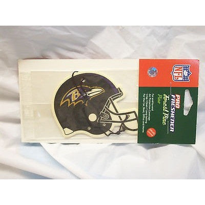 NFL Baltimore Ravens Helmet Shaped Air Freshener Scented Forest Pine by G-7