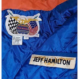 "NASCAR Jeff Hamilton ""Tide Racing Downy"" Leather Jacket M"