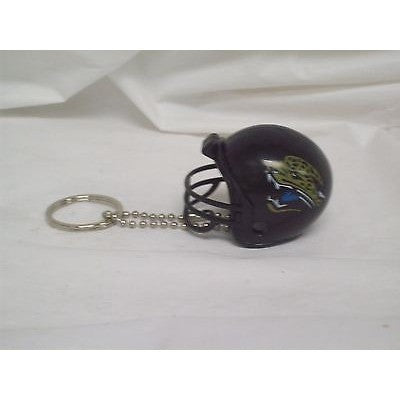"NFL Jacksonville Jaguars 1 1/2"" Mini Plastic Helmet Pencil Topper Key Chain Key Ring"