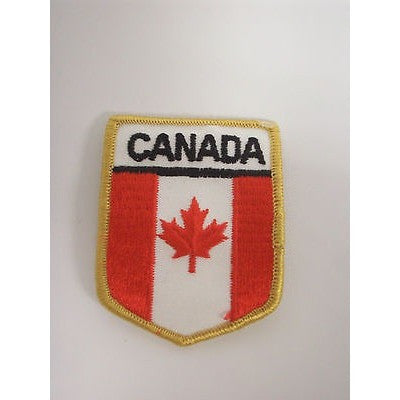 "Canada International Country Colors 2 1/4"" by 3"" Iron-On Patch"