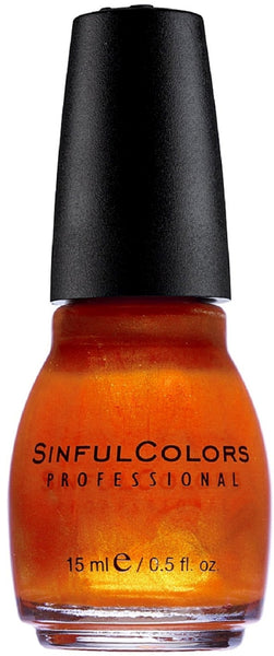 Sinful Colors Professional Nail Polish 30 COURTNEY ORANGE .5 Fl Oz