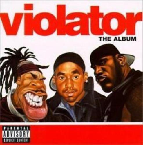 Used Violator CD The Album Various Artists 1999 Def Jam Music Group