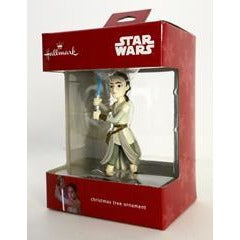 2016 Hallmark Star Wars Rey Holiday Tree Ornament Original Box