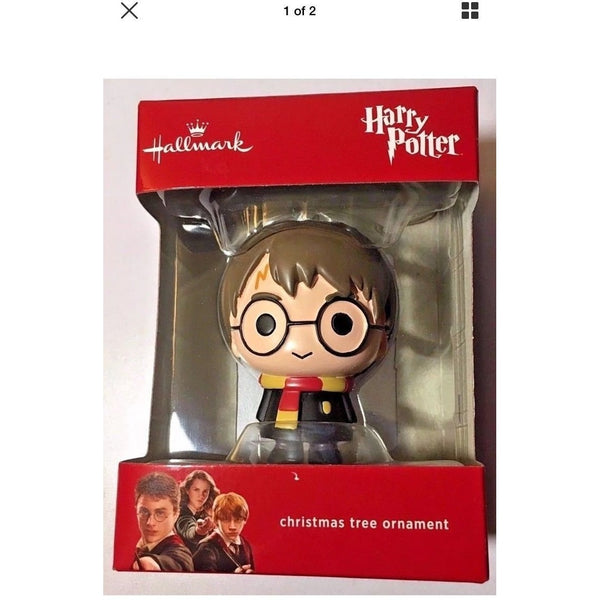 2017 Hallmark Harry Potter Christmas Tree Ornament Original Box