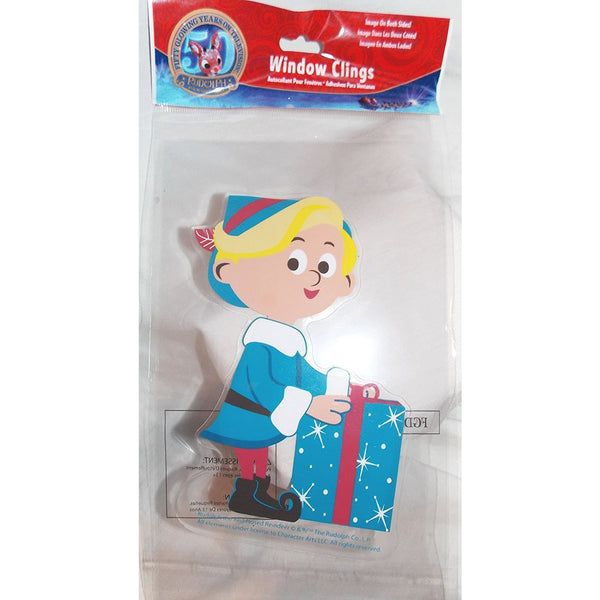 "Rudolph's Hermey the Elf Gel Window Cling by Product Works 5""x7"""