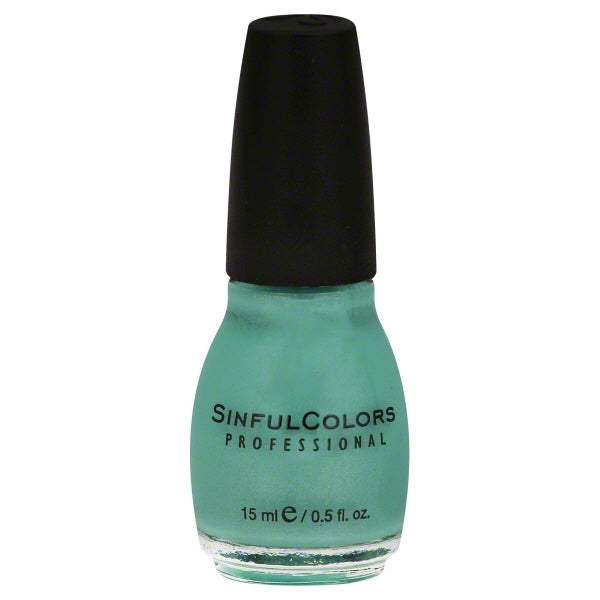 Sinful Colors Professional Nail Polish 947 MINT APPLE .5 Fl Oz
