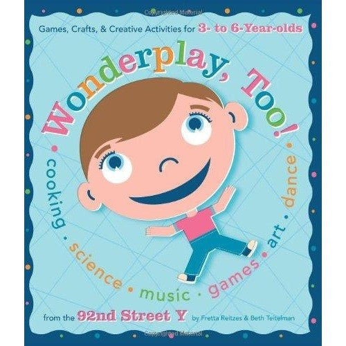Wonderplay,Too! Activity Book of Games Crafts & Creative For Kids Ages 3-6
