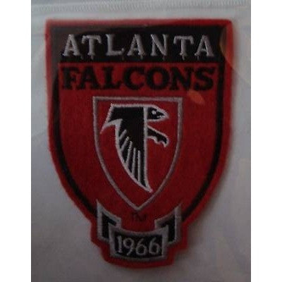 "NFL Atlanta Falcons 1966 Shield on 4 1/4"" on Felt Patch"