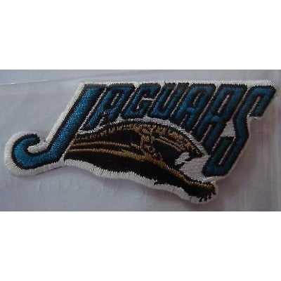 "NFL Jacksonville Jaguars 4"" Name Only Embroidered Patch"