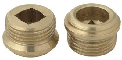 "2 Brasscraft Faucet Seats 9/16 "" X 24 Thread Low Lead 3/8"" Height"