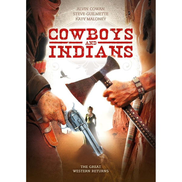 Cowboys & Indians DVD Alvin Cowan 2011 Screen Media Films Very Good